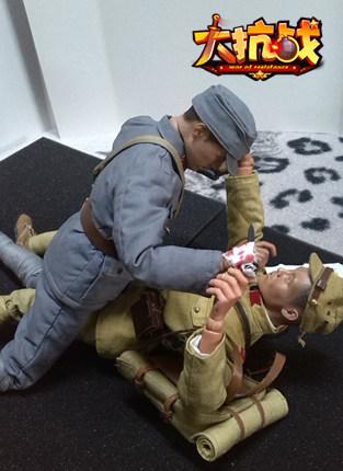 手工帝!《大抗戰》玩家自制3D兵人模型